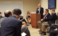 Ralph DiLeone Moderates State of Morrisville Event